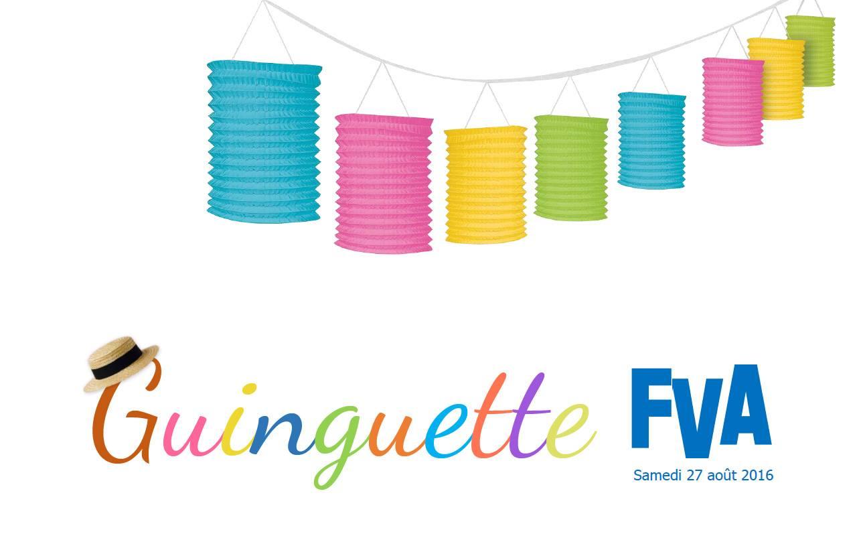 Guinguette FVA - Août 2016