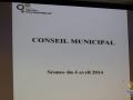 Premier Conseil Municipal - Avril 2014