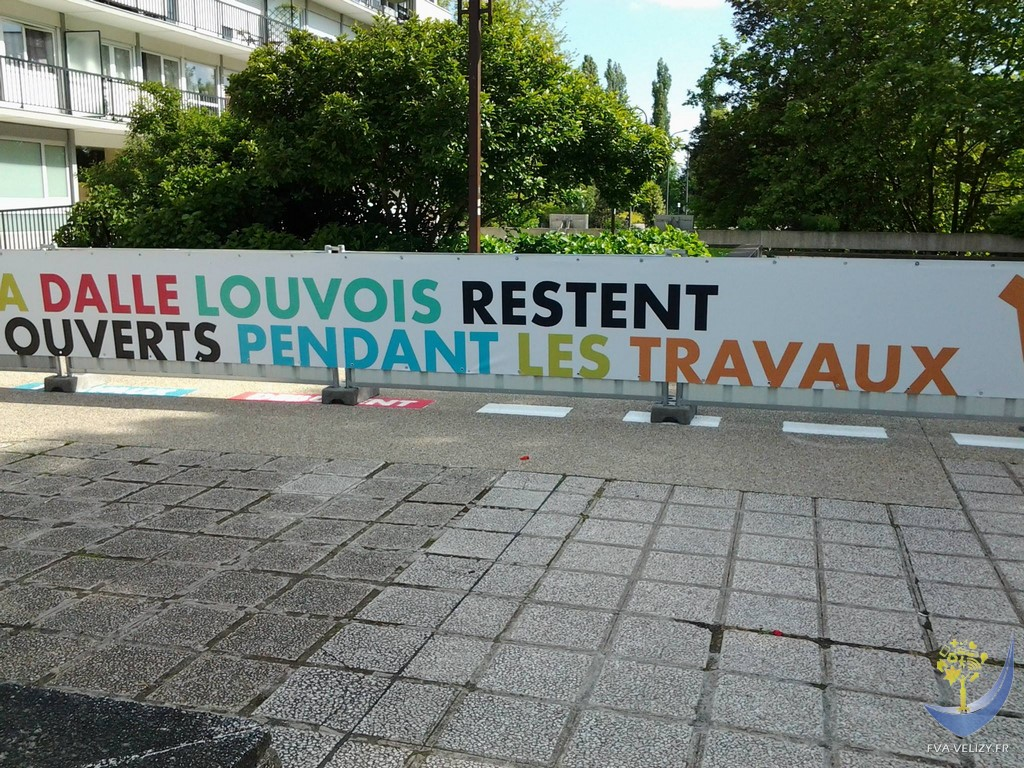 Travaux Louvois Vélizy - 22 mai 2015