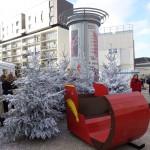 Marché de Noël Vélizy, décembre 2014