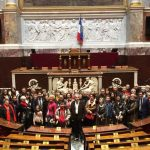 Photos de la visite de l'Assemblée Nationale – Février 2017