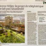 Sèvres - Vélizy : le projet de téléphérique ne fait pas l'unanimité