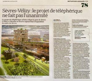 Projet Téléphérique Sèvres - Vélizy