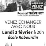 Réunion publique école Rabourdin : 3 février à 20h