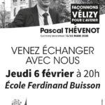 Réunion publique école Ferdinand Buisson : 6 février à 20h