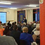 Salle comble pour la 1ère réunion publique de campagne