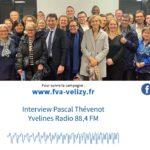 Interview de Pascal Thévenot sur Yvelines Radio
