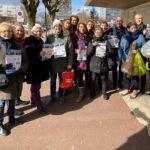 Marché du Mail, le samedi 7 mars